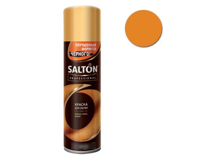 Краска для обуви замши/нубука св. Коричневая Salton Professional