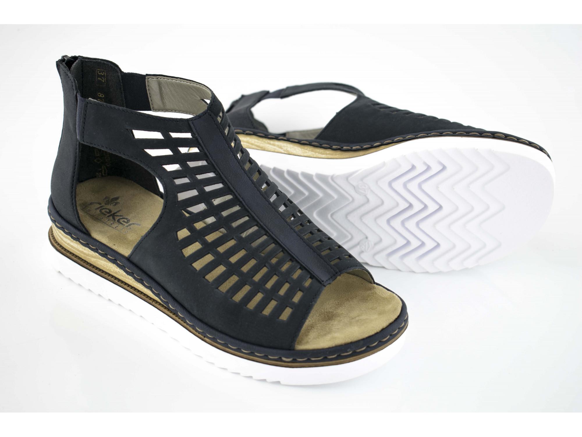 Летние туфли Rieker 679F5-14