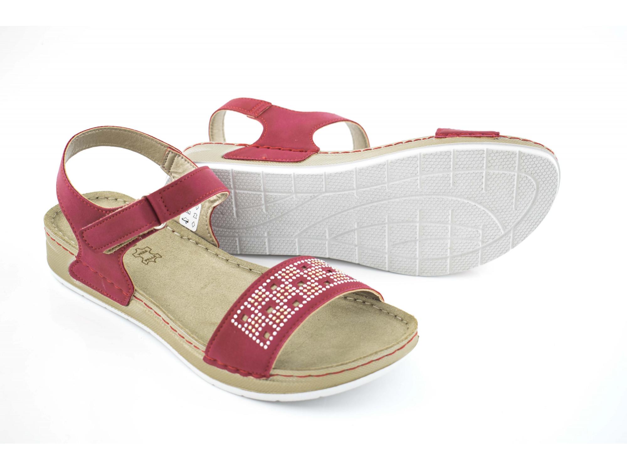 Босоножки Inblu PE-1U red