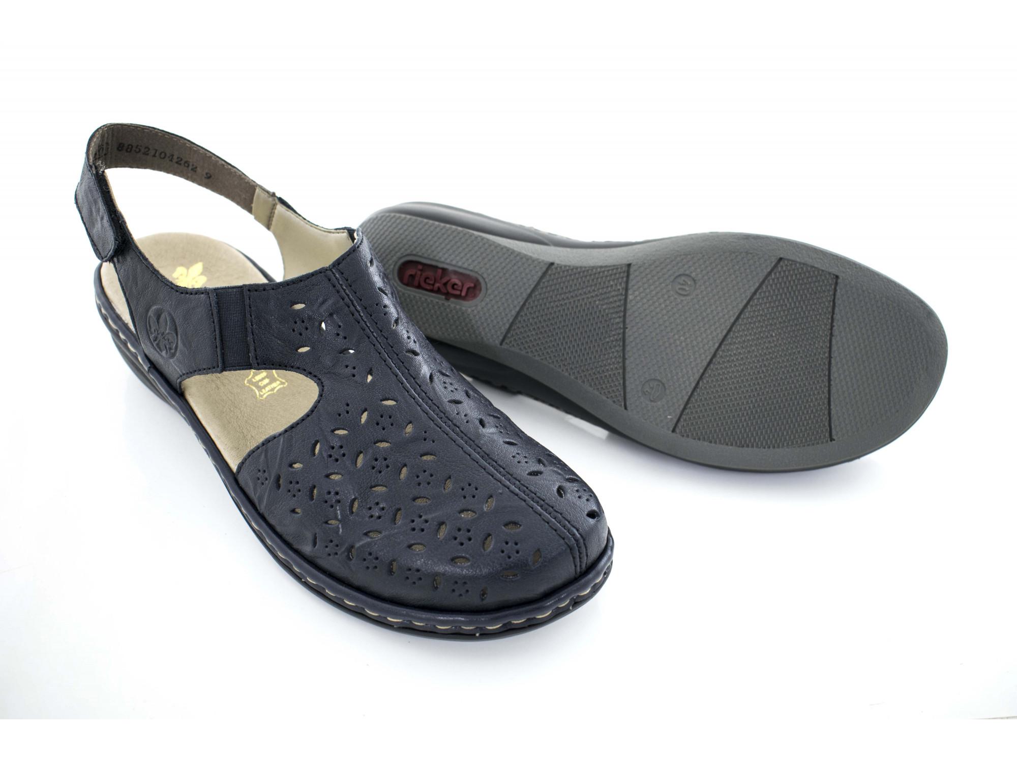 Летние туфли Rieker 47776-14