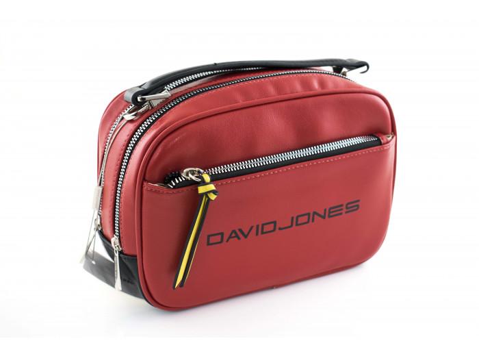 Сумка - клатч David Jones cm5085T красная