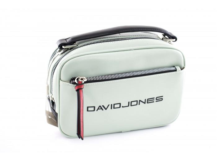 Сумка - клатч David Jones cm5085T зеленая