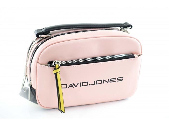 Сумка - клатч David Jones cm5085T розовая