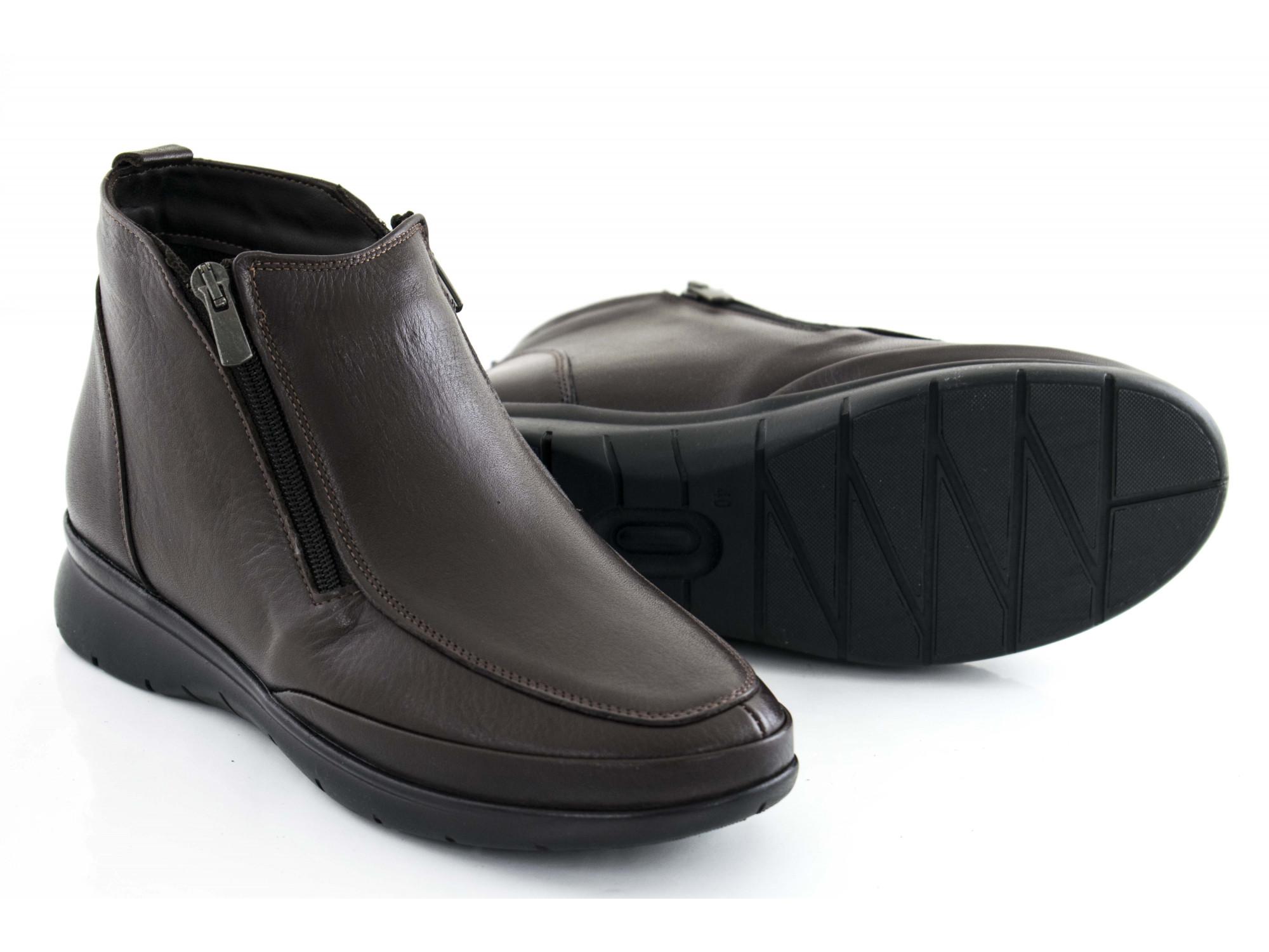 Ботинки La Pinta 0571-159 бордовые