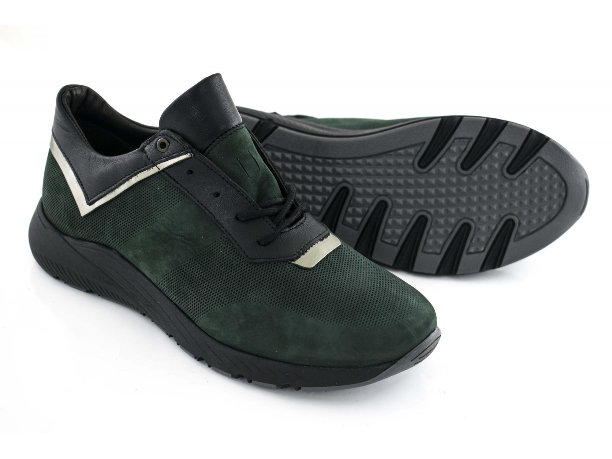 Кроссовки Aspena N196P26 зеленые