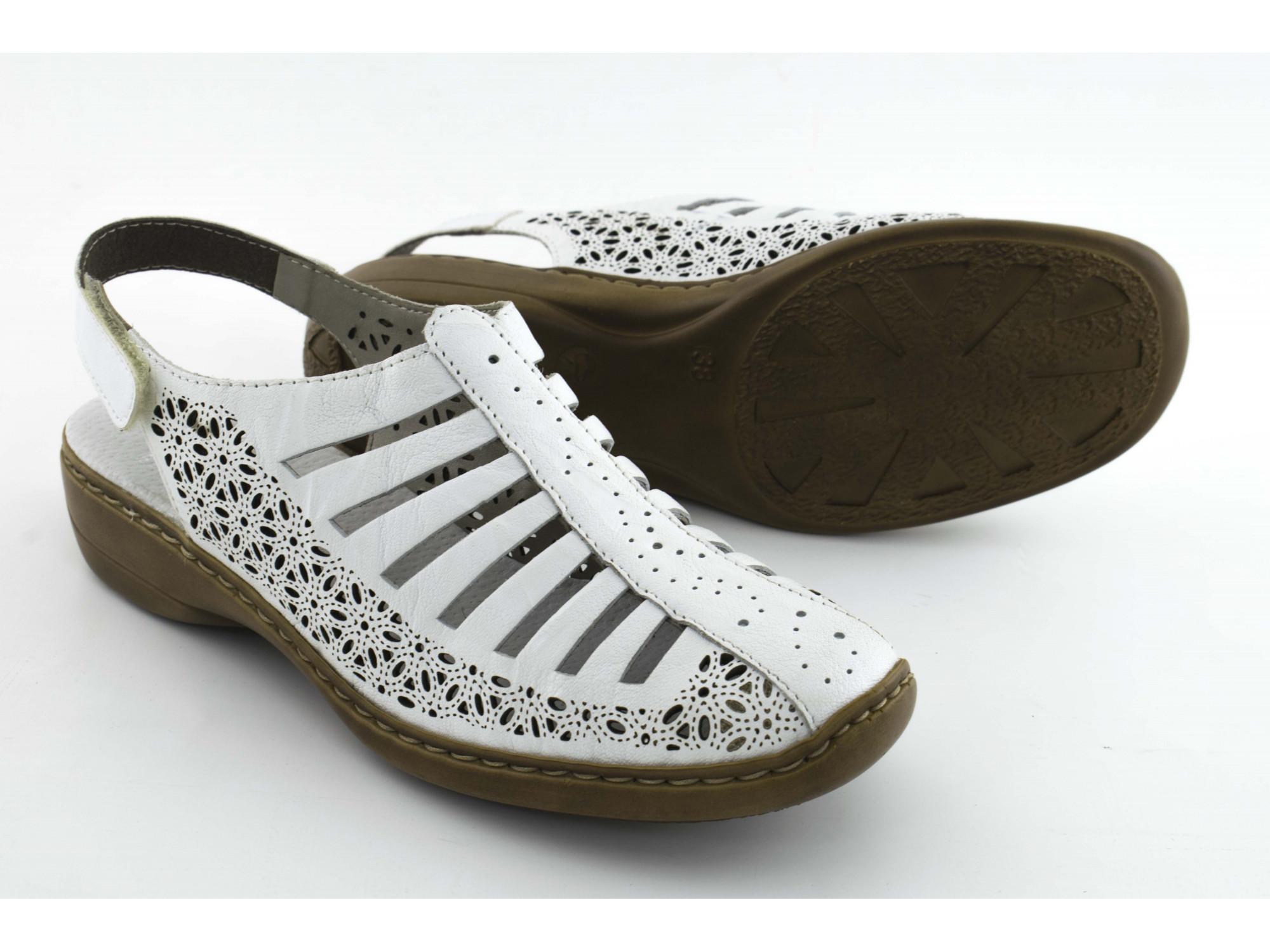 Летние туфли Rieker 41355-80