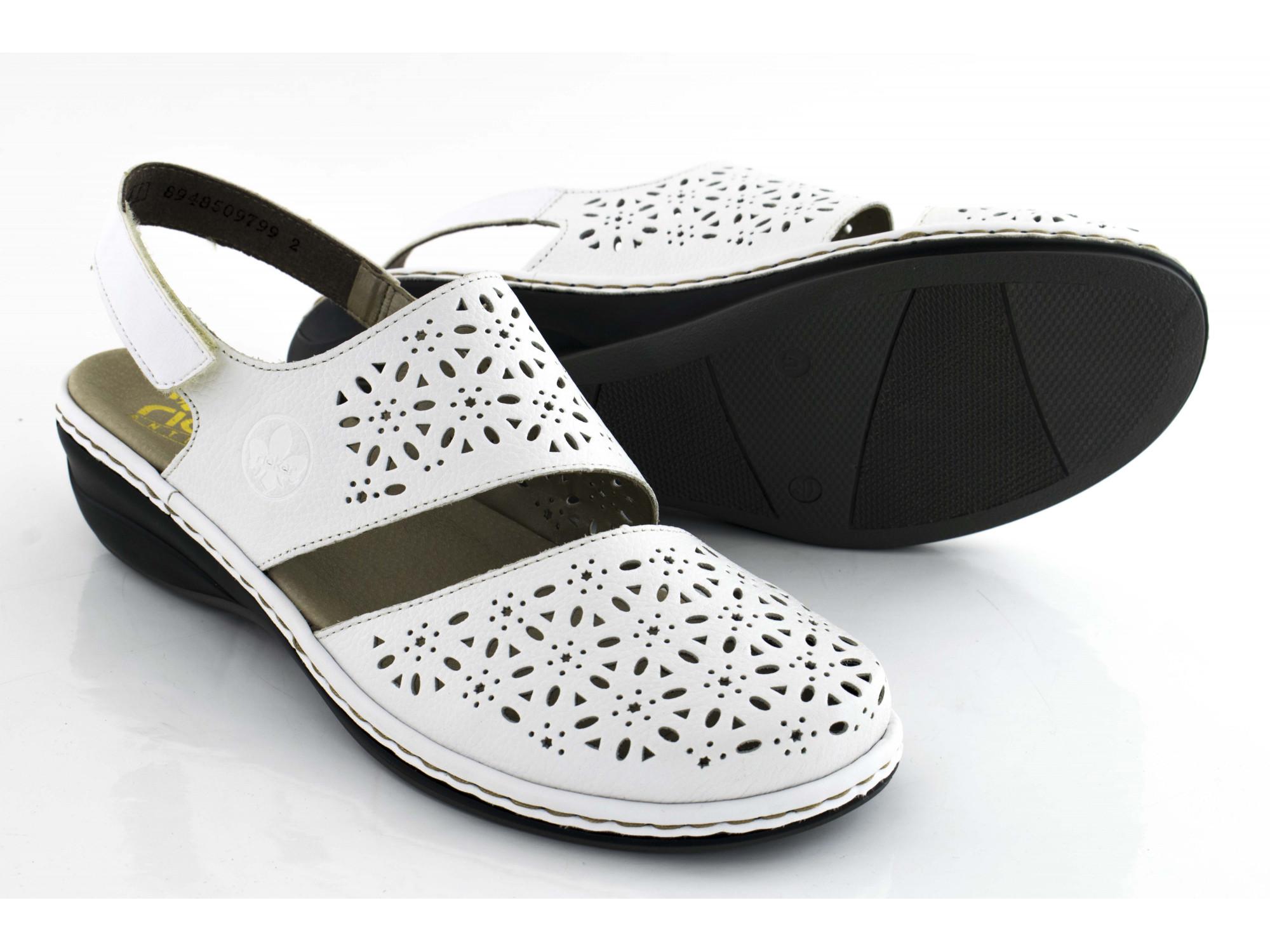 Летние туфли Rieker 47767-80