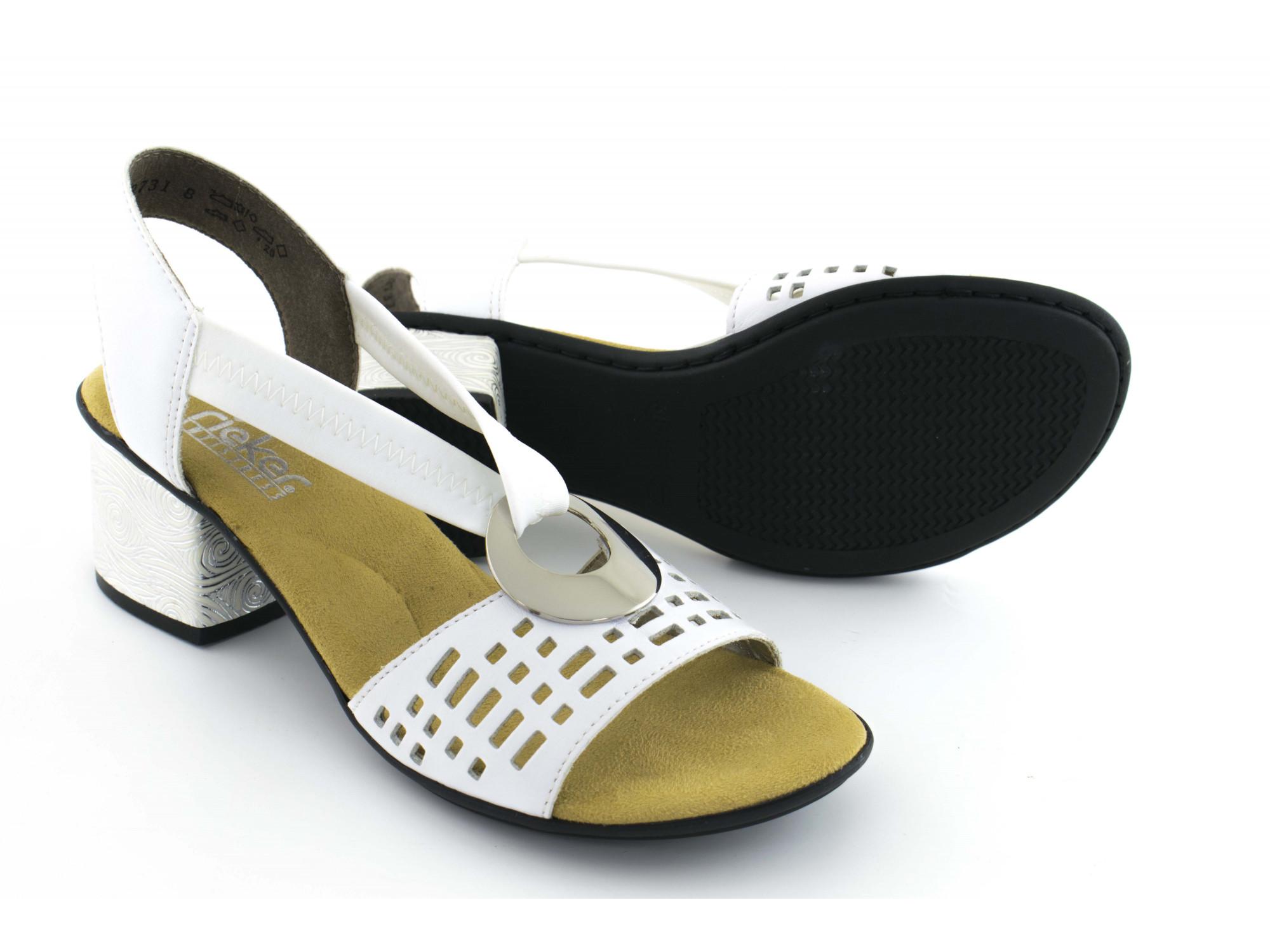 Летние туфли Rieker 64675-80
