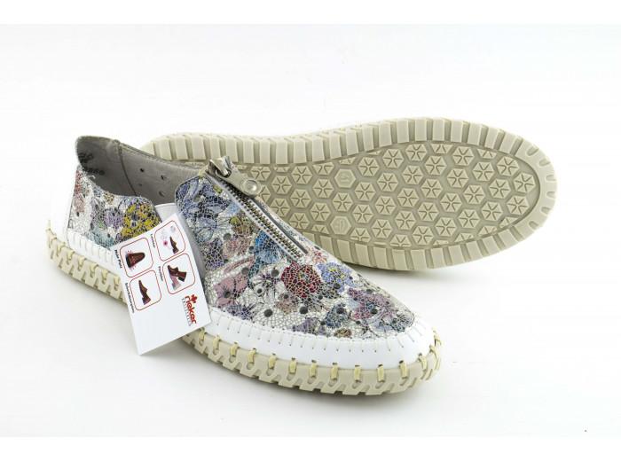 Летние туфли Rieker L1365-80