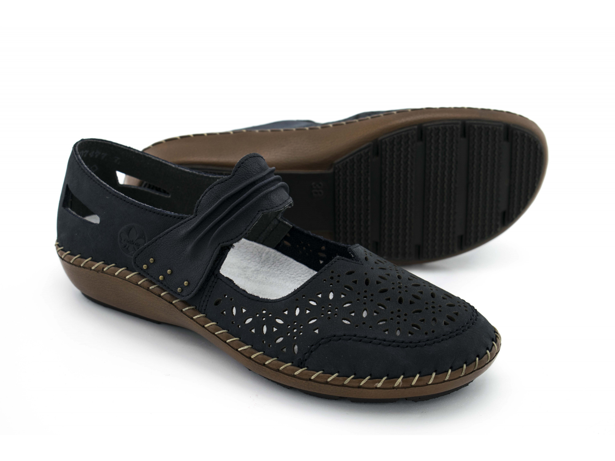 Летние туфли Rieker 44896-14
