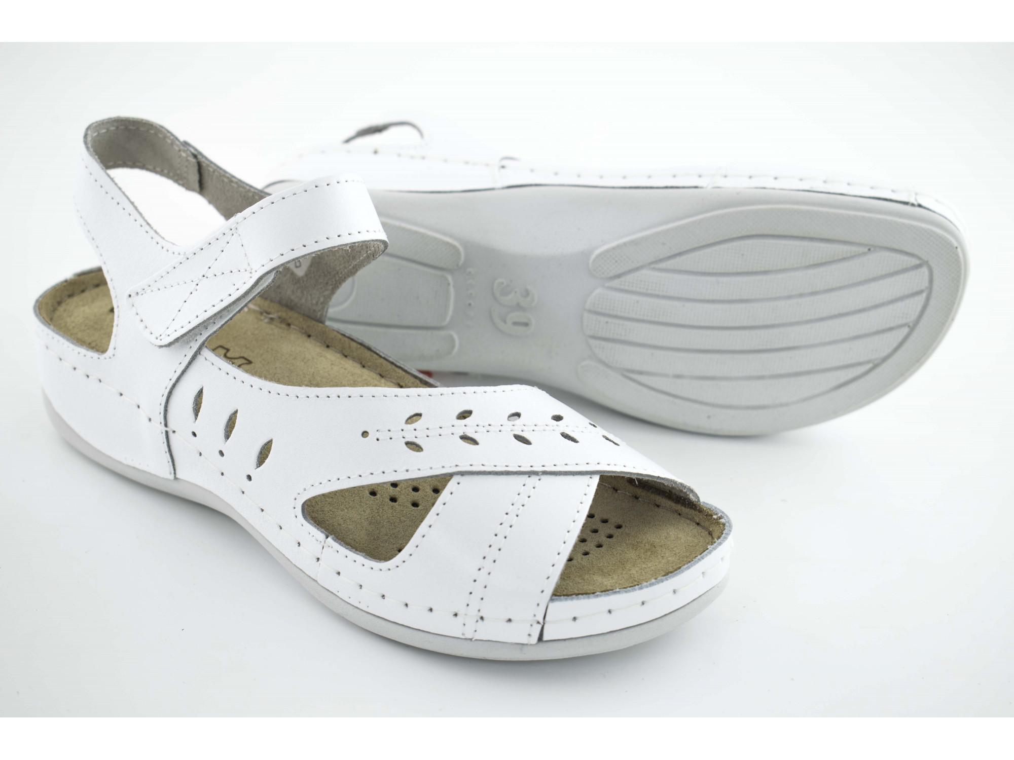 Босоножки Inblu 36-1С1 Белые