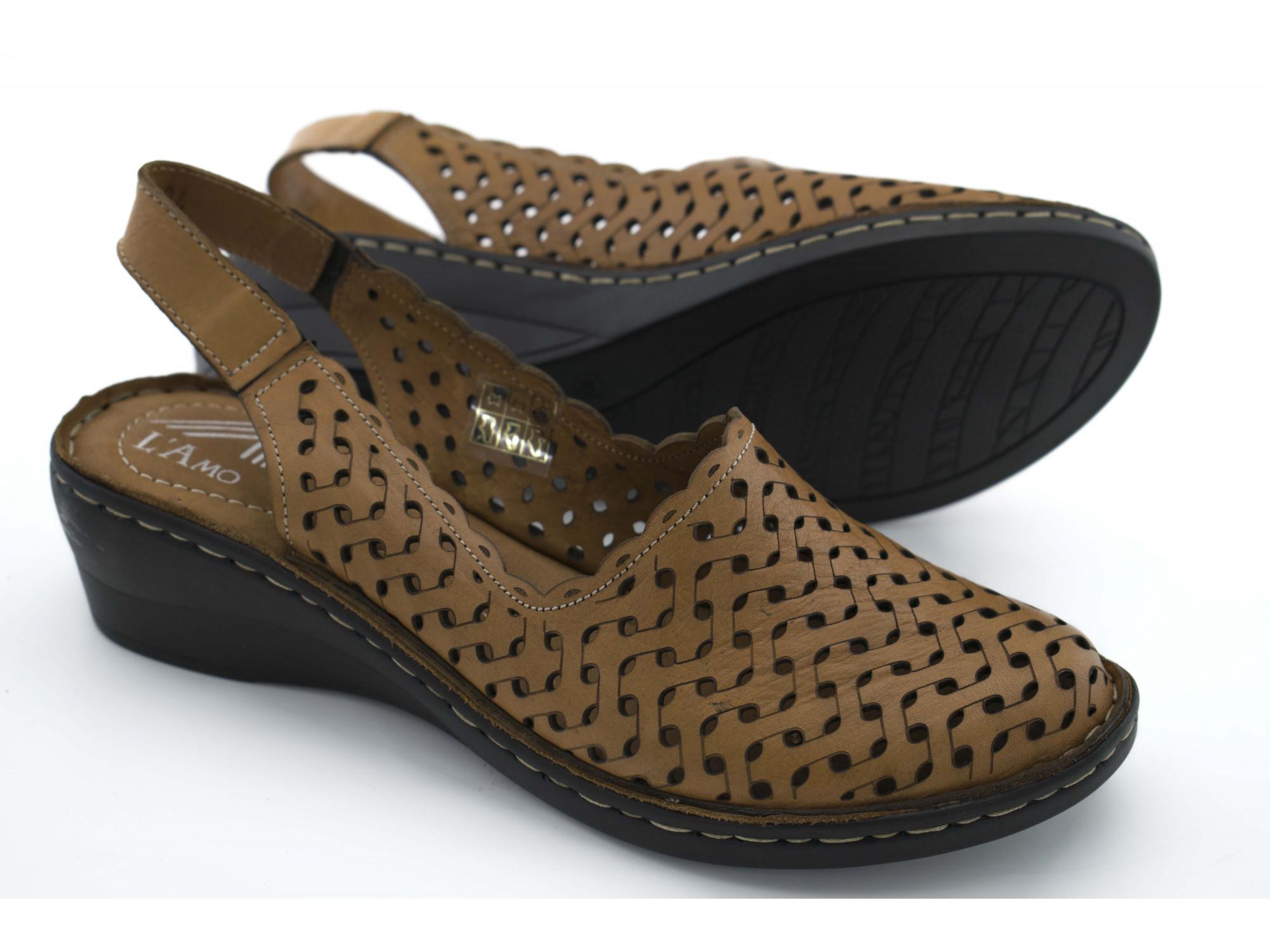 Летние туфли L'Amo 5047-1-04