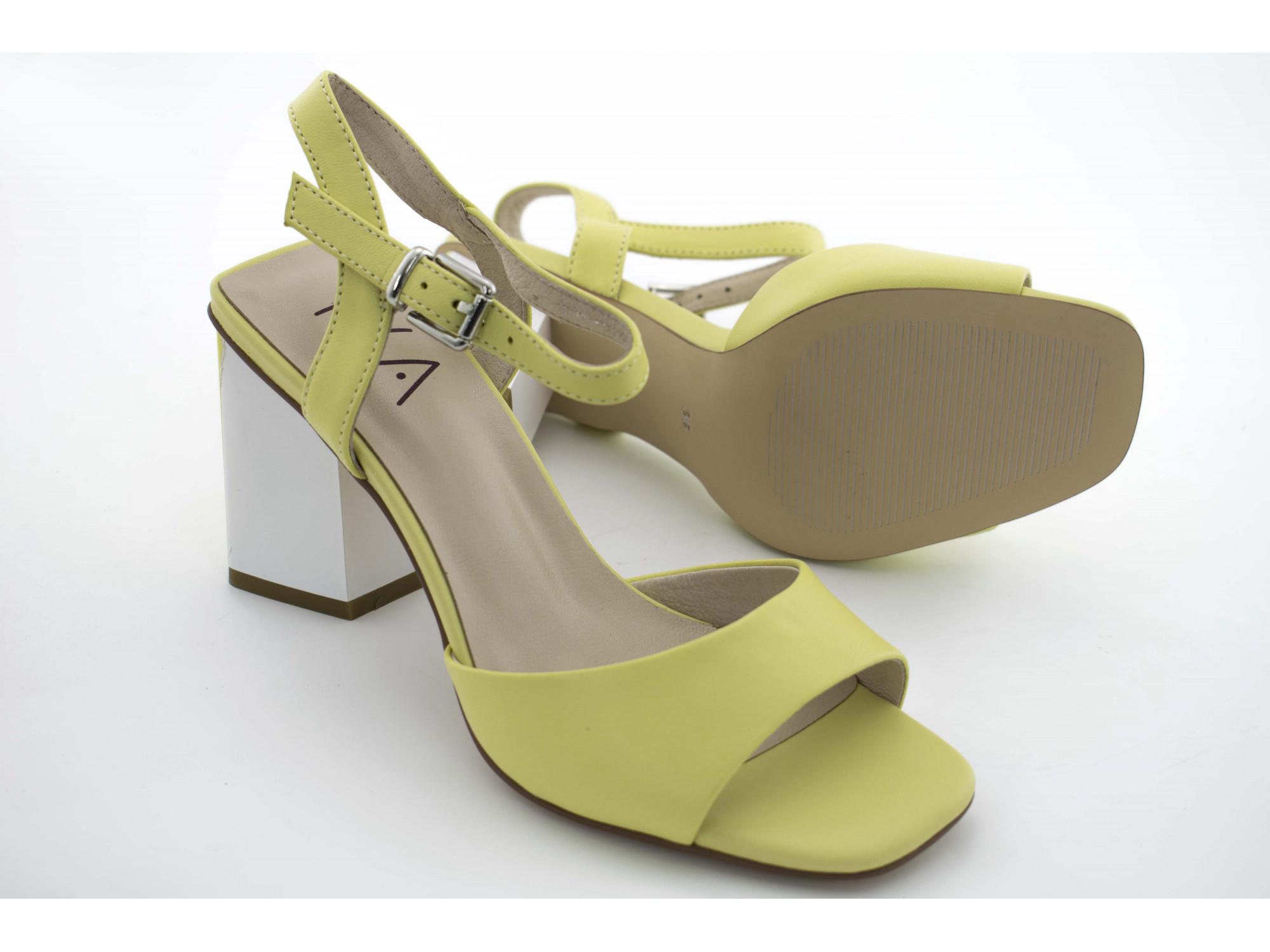 Летние туфли IVA H6755 Жолтые