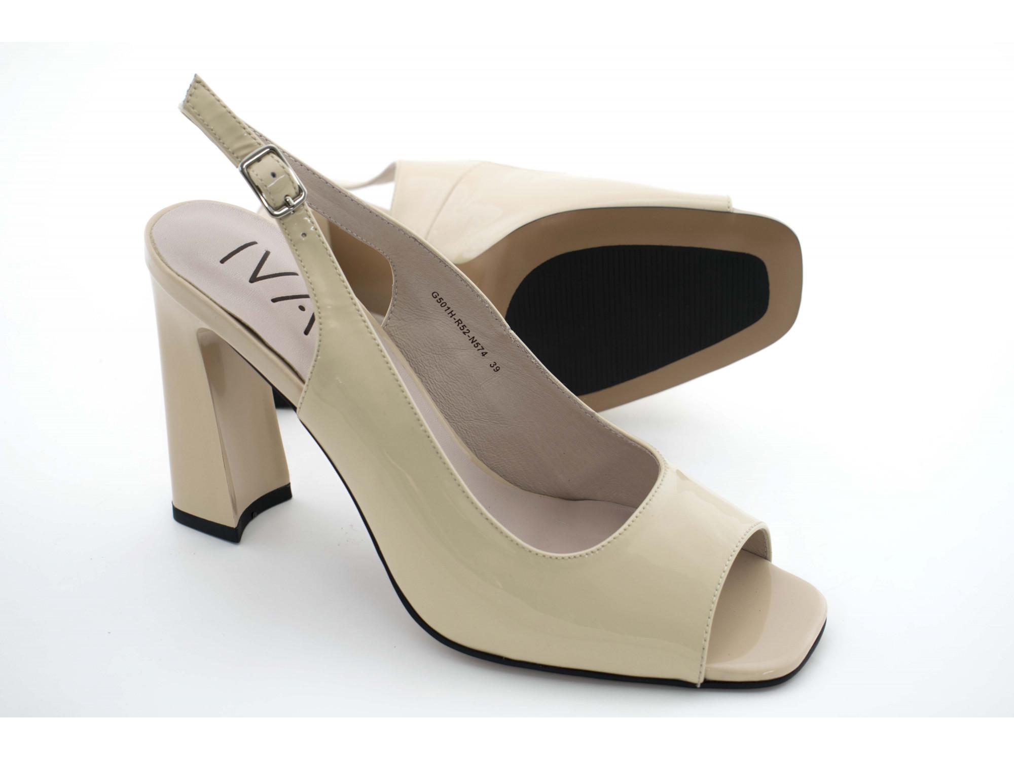 Летние туфли IVA G501H Бежевые