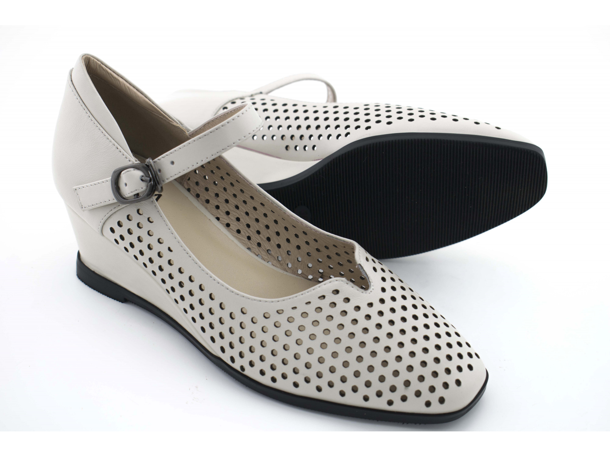 Летние туфли IVA A1525 Белые