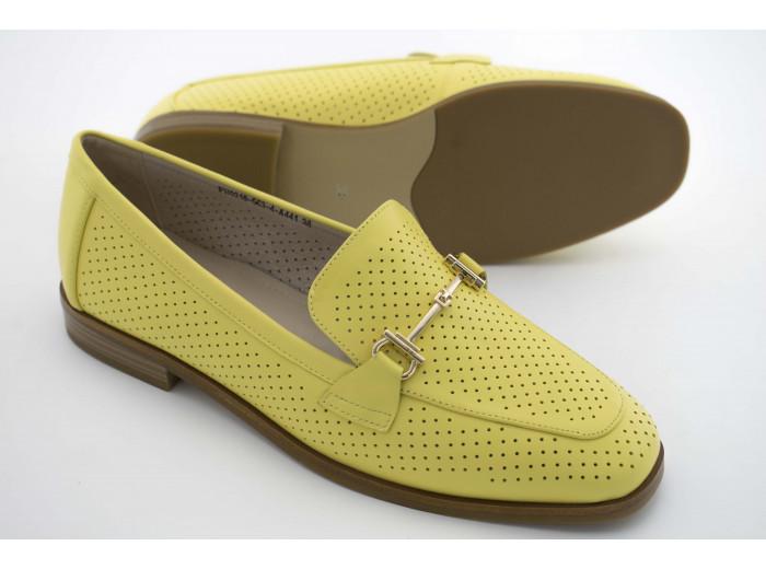 Лоферы IVA FH0218 Желтые