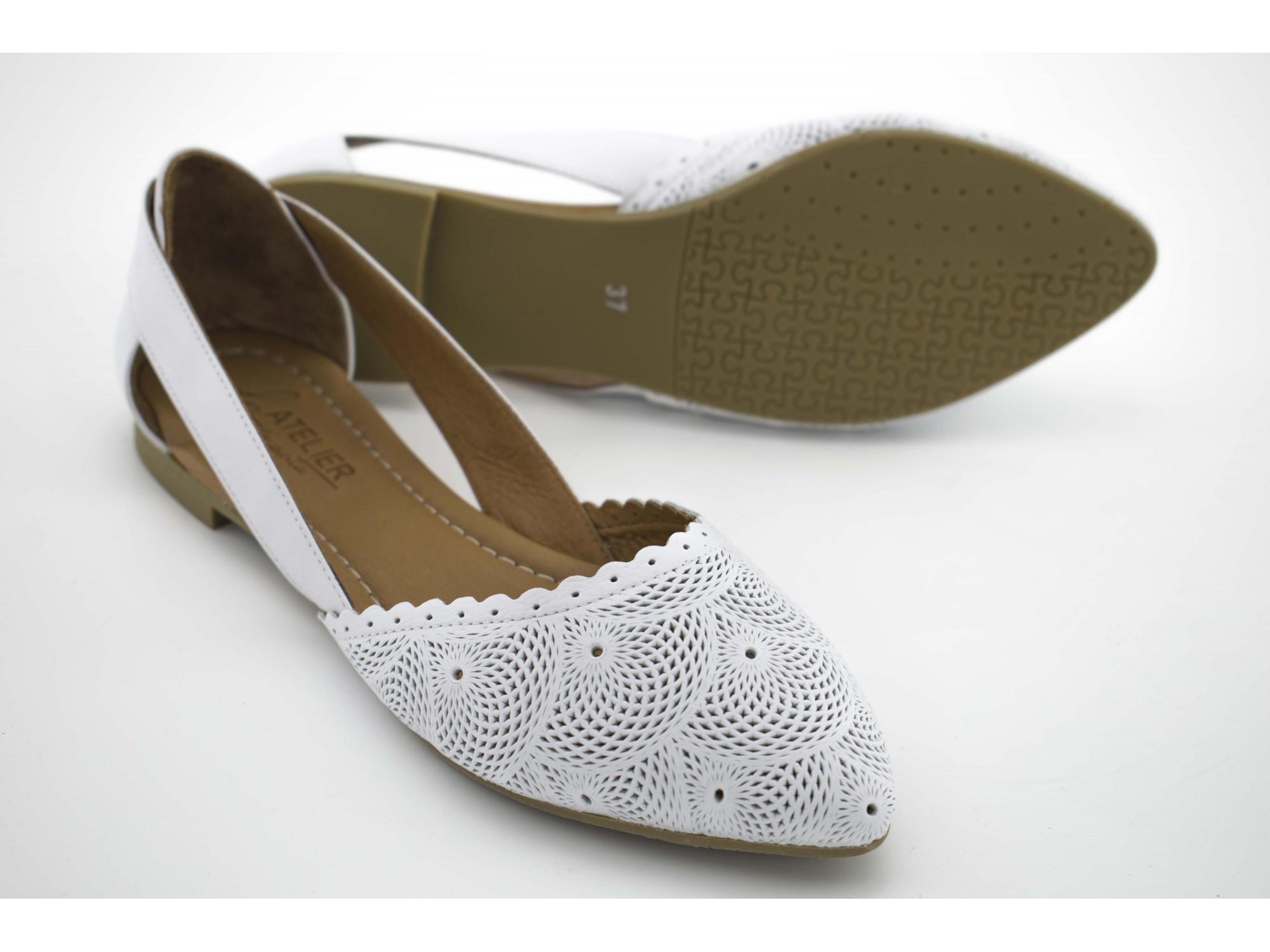 Летние туфли La Pinta 0472-115 21Y Белые