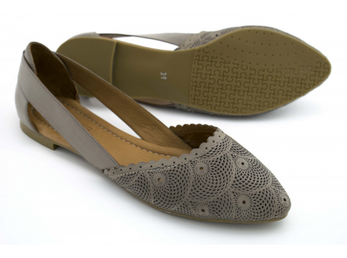 Летние туфли La Pinta 0472-115 21Y Серые