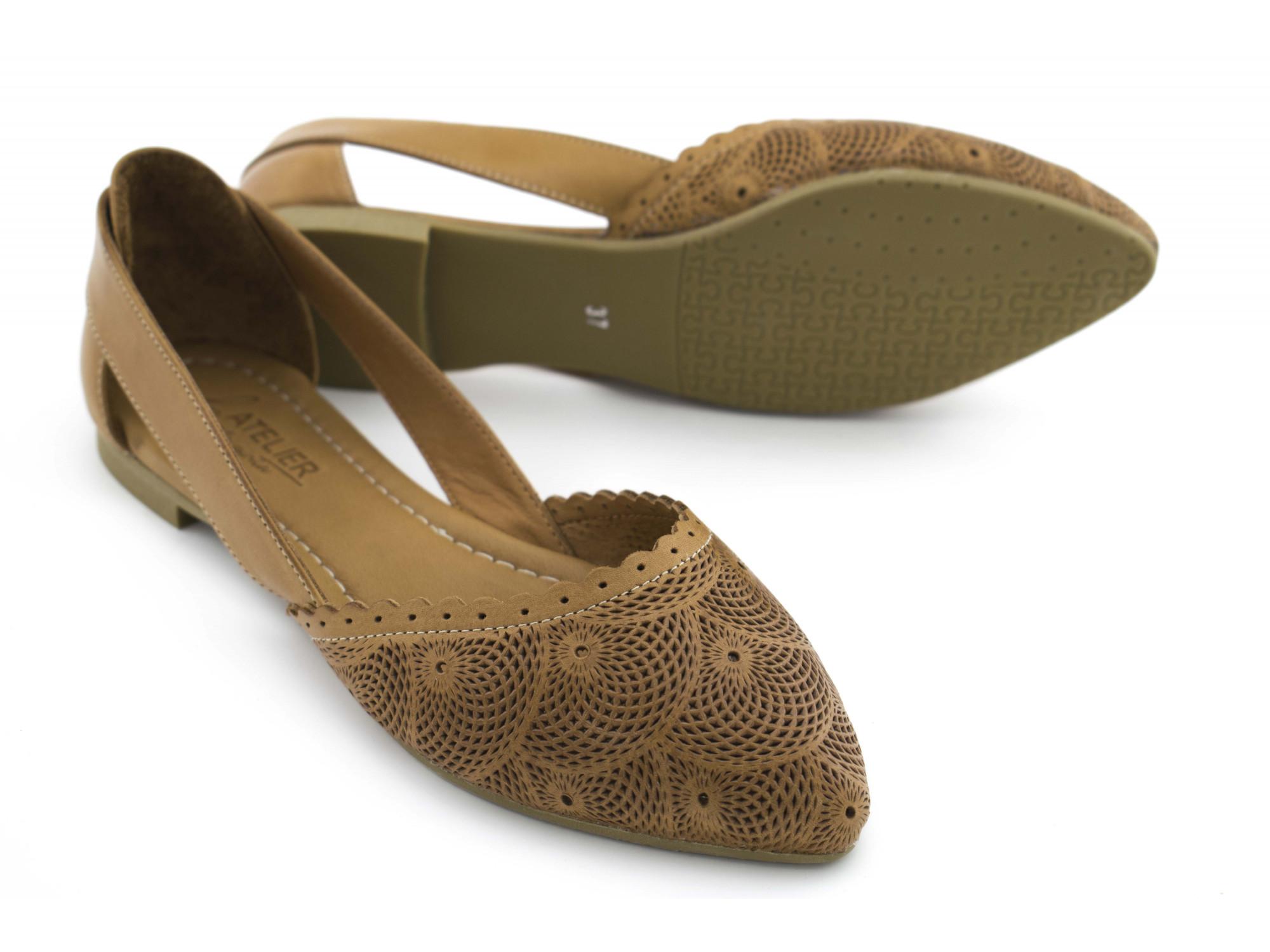 Летние туфли La Pinta 0472-115 21Y Коричневые